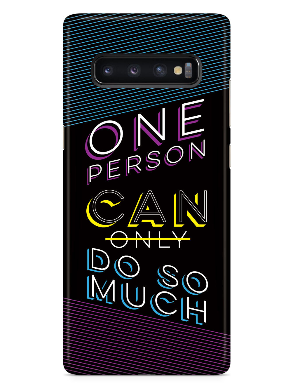 One Person CAN Do So Much Case