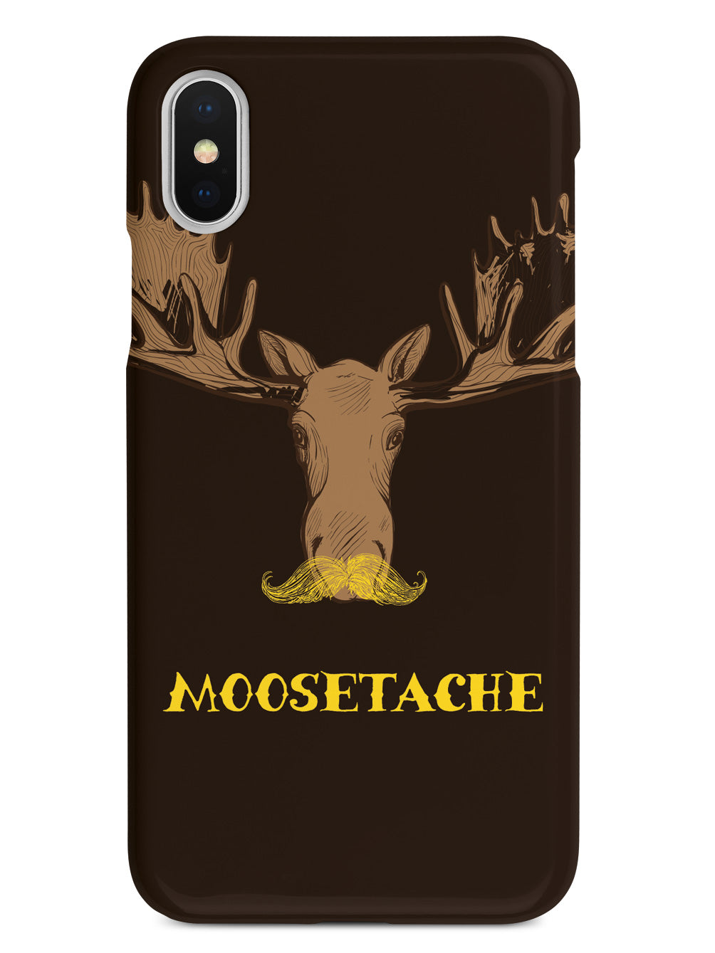 Moosetache - Mustache Case