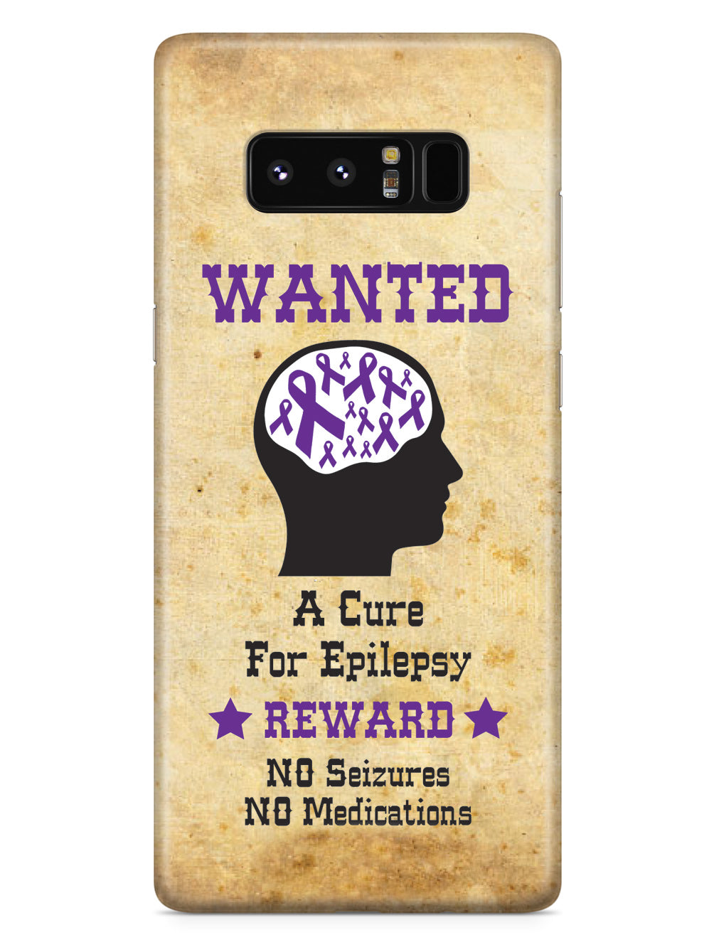 Wanted - Cure for Epilepsy Awareness Support Case