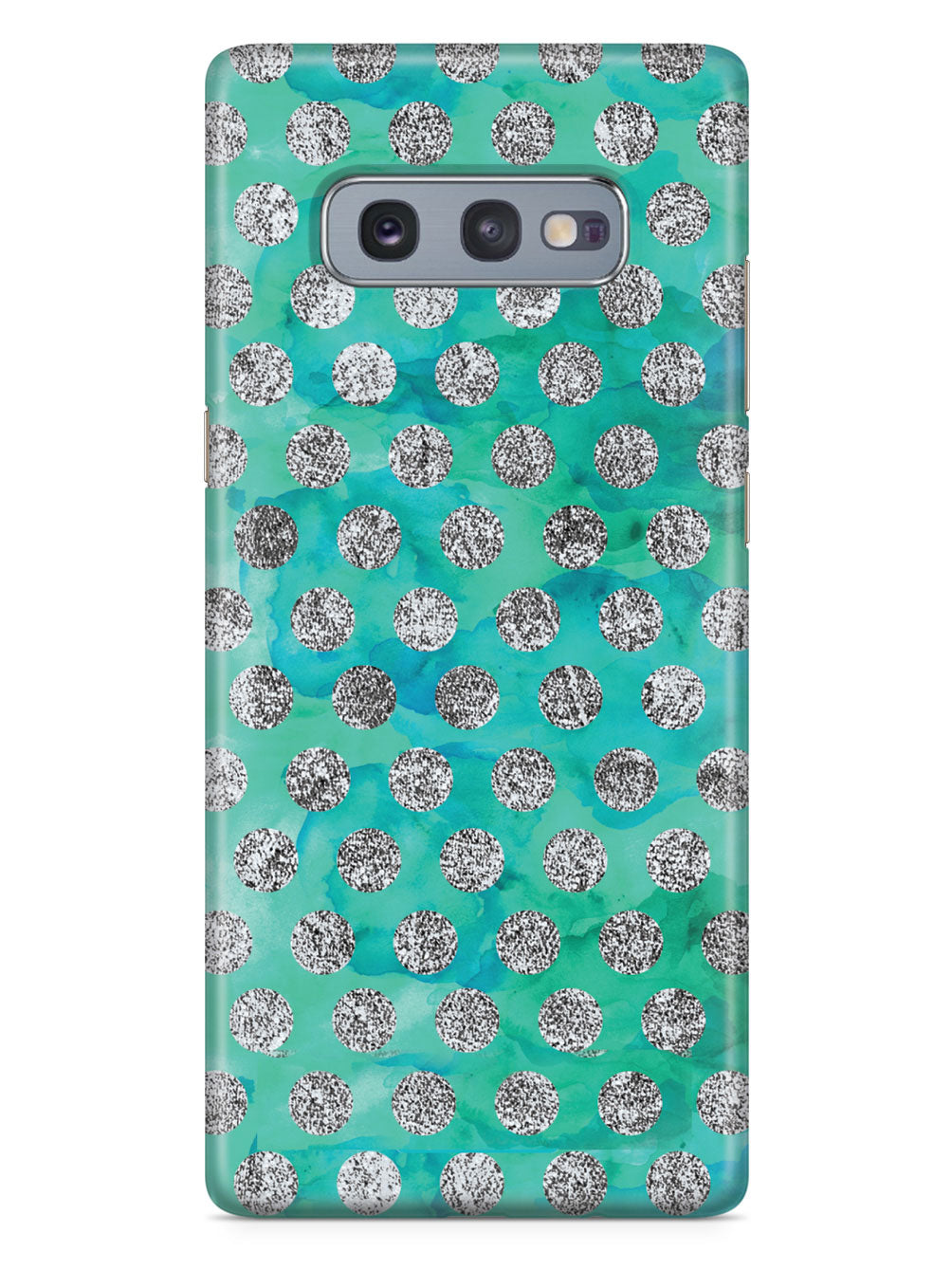 Teal & Glitter Pattern Case