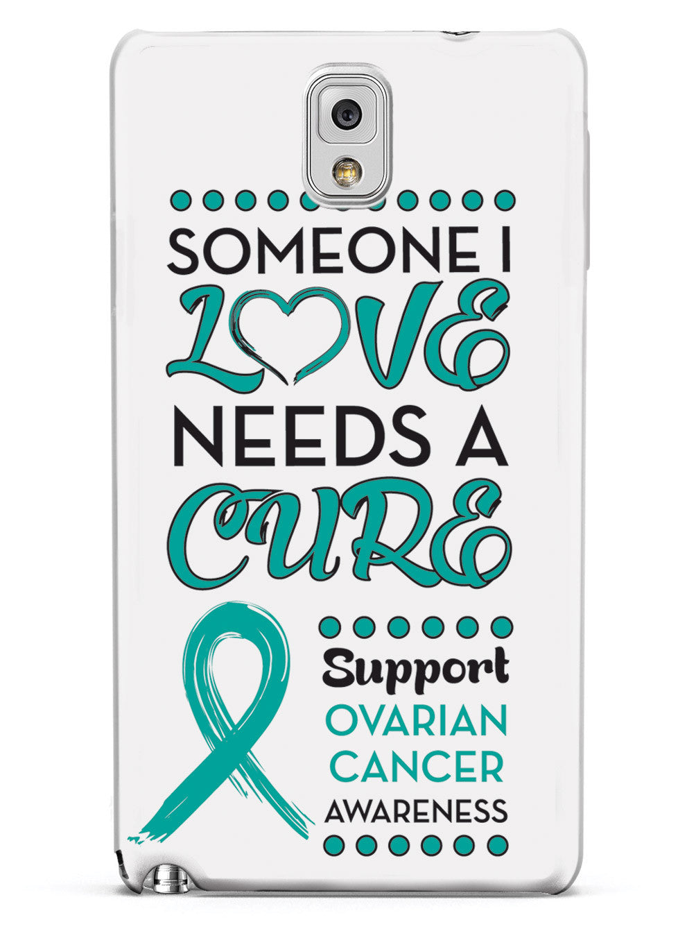Someone I Love - Ovarian Cancer Awareness Case