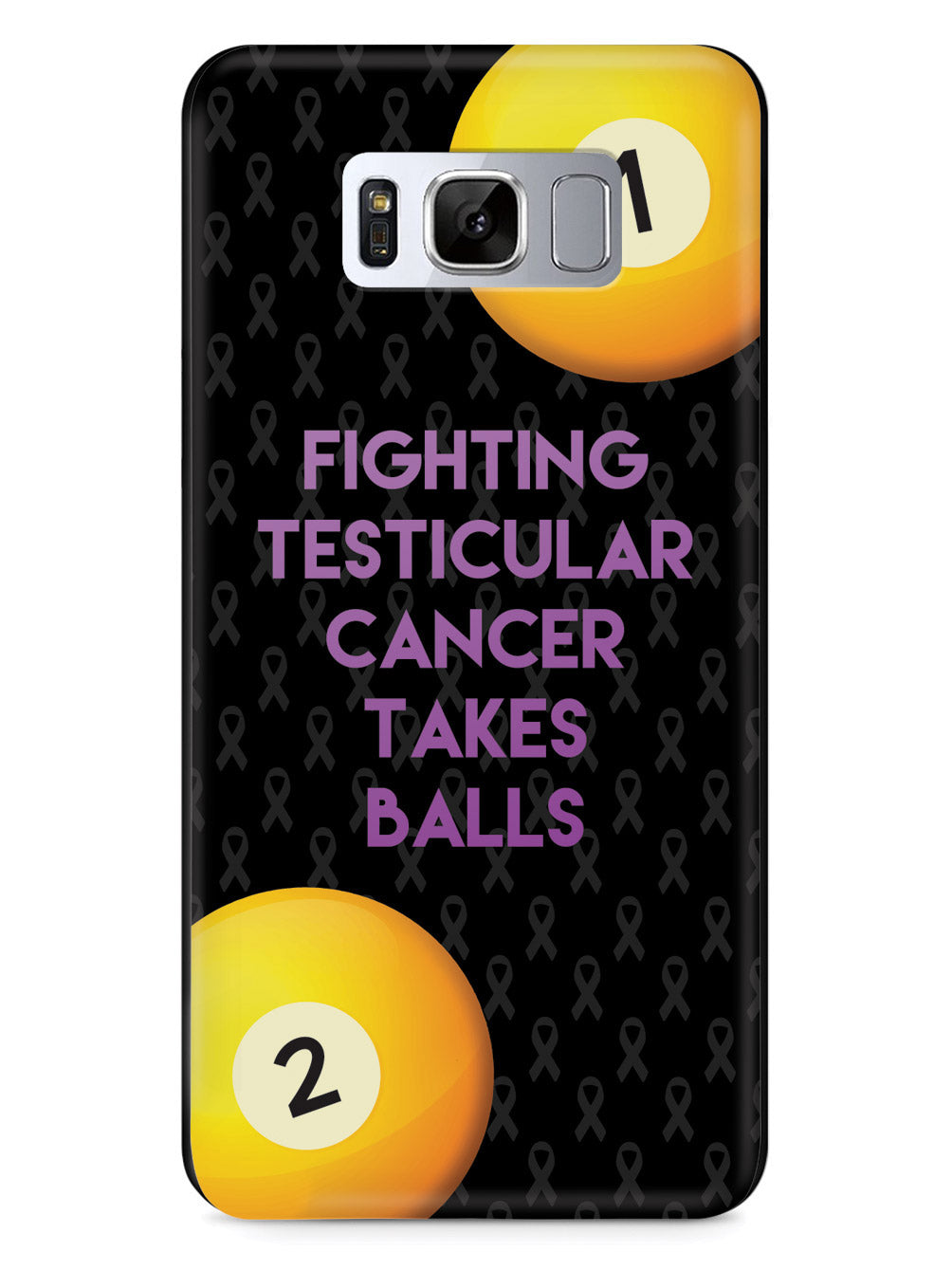 Fighting Testicular Cancer Takes Balls Case