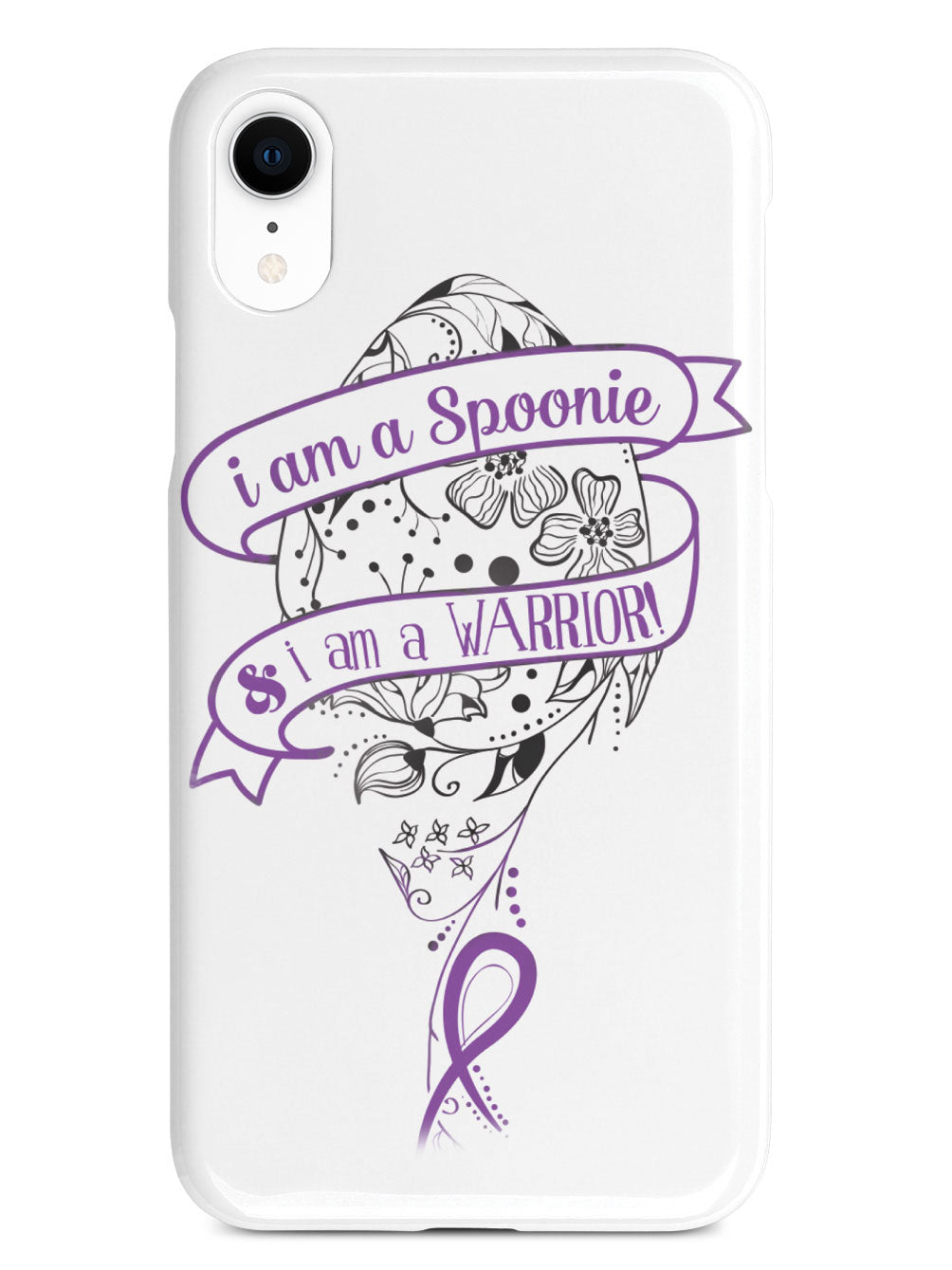 I am a Spoonie & I am a Warrior Case