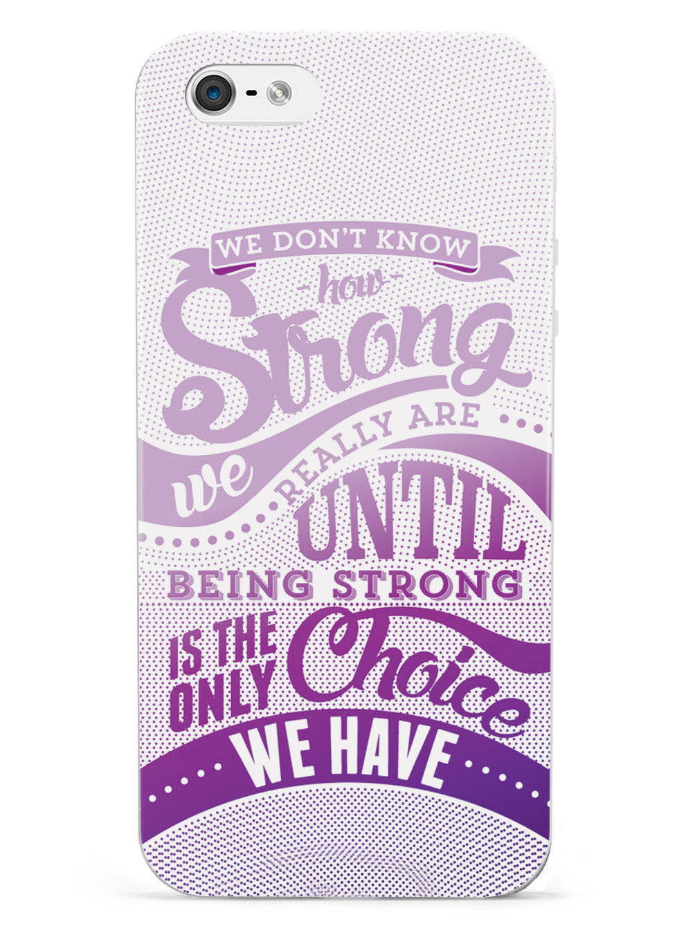 How Strong - Purple Awareness/Support Case
