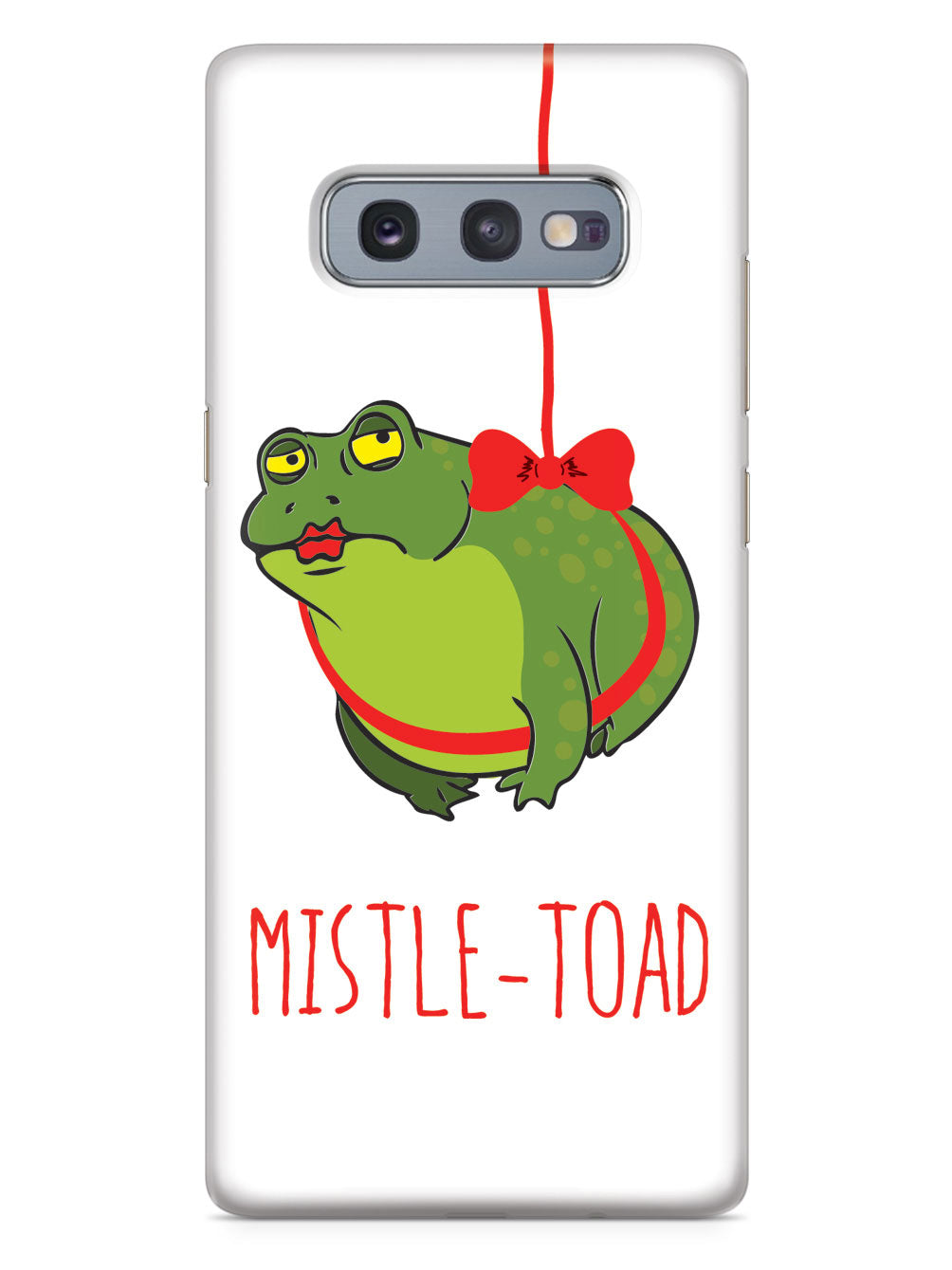 Mistle Toad (Mistle Toe) Christmas Case