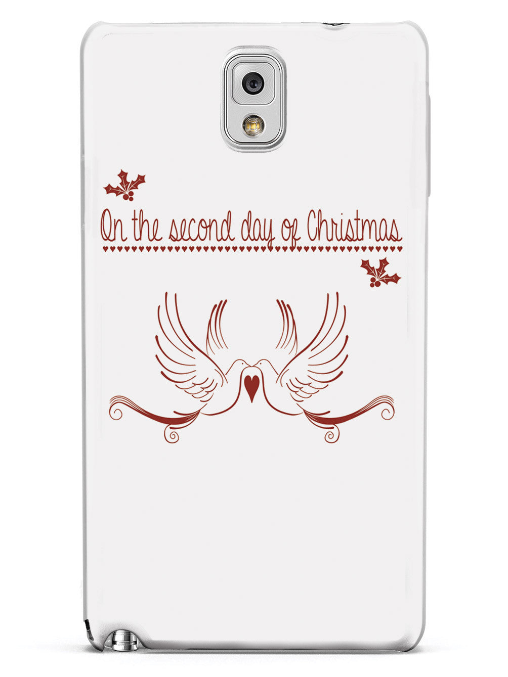 On the Second Day of Christmas - Two Turtle Doves Case