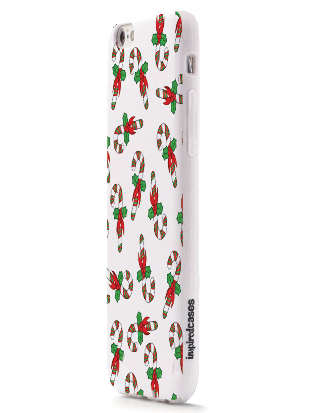 Candy Canes Christmas Pattern Case