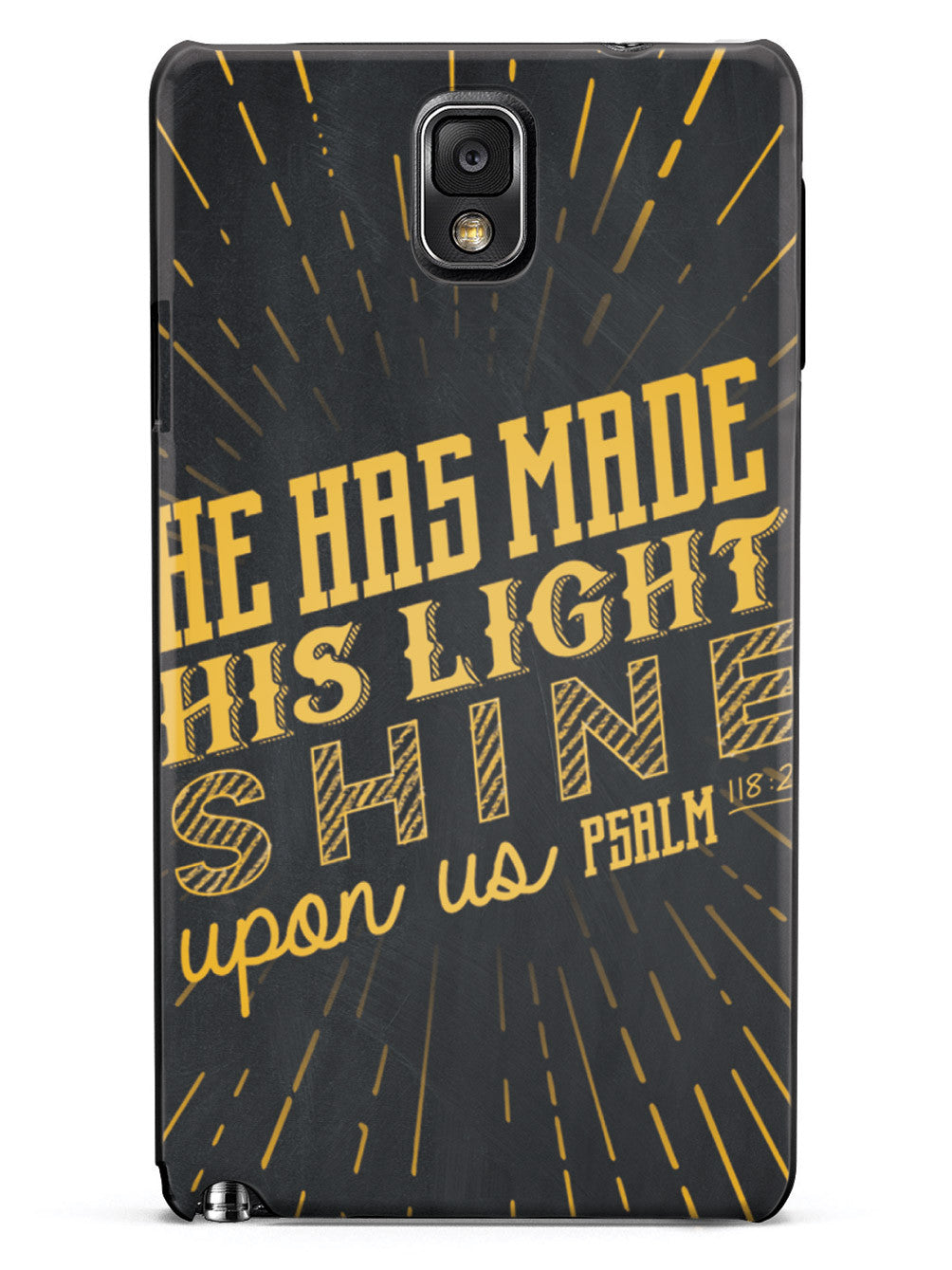 He Has Made His Light Shine Case