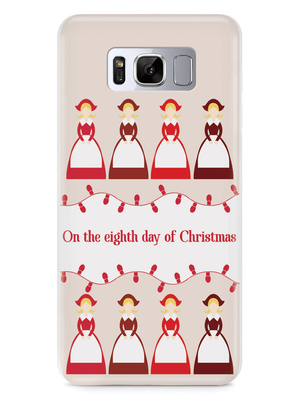 On the Eighth Day of Christmas - 8 Maids a Milking  Case