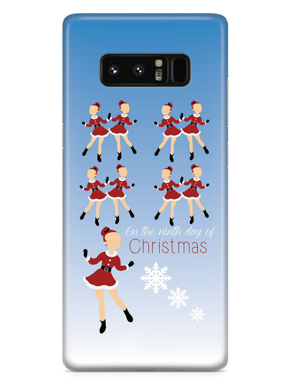 On the Ninth Day of Christmas - 9 Ladies Dancing Case