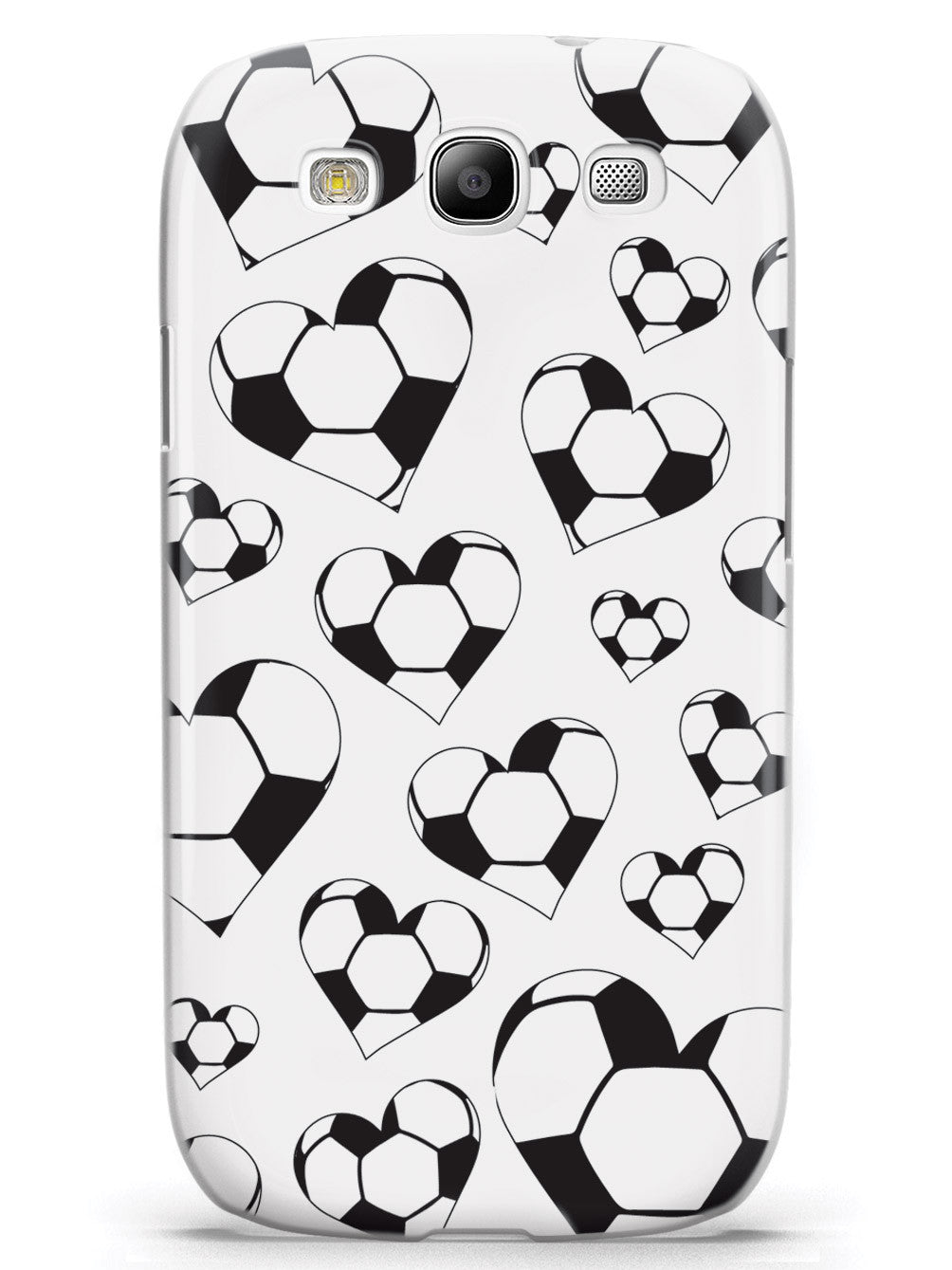 Soccer Heart Pattern Case