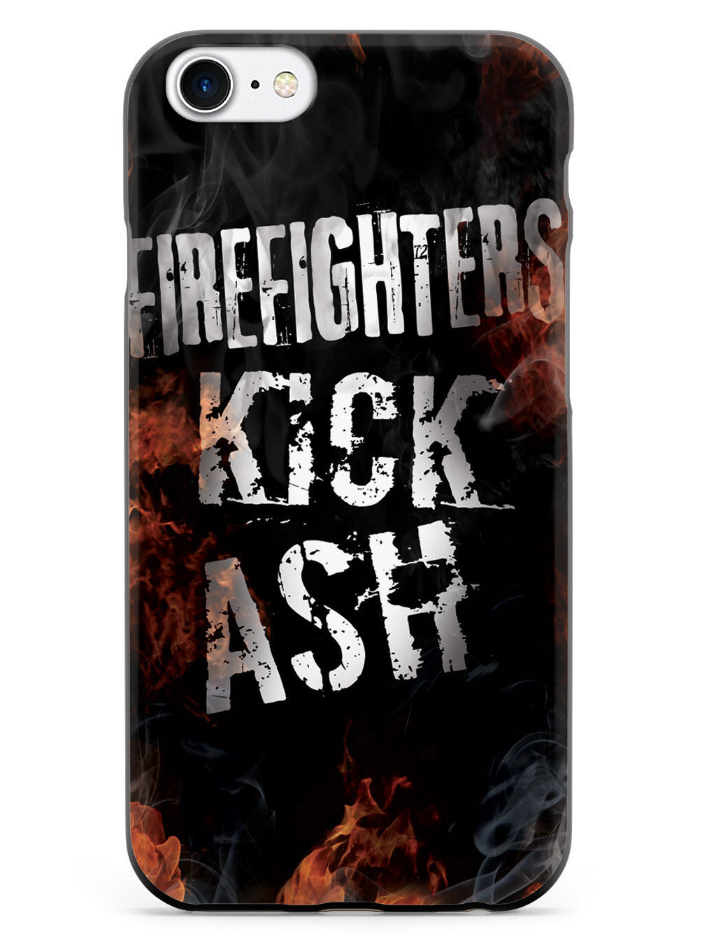 Firefighters Kick Ash Flame Case
