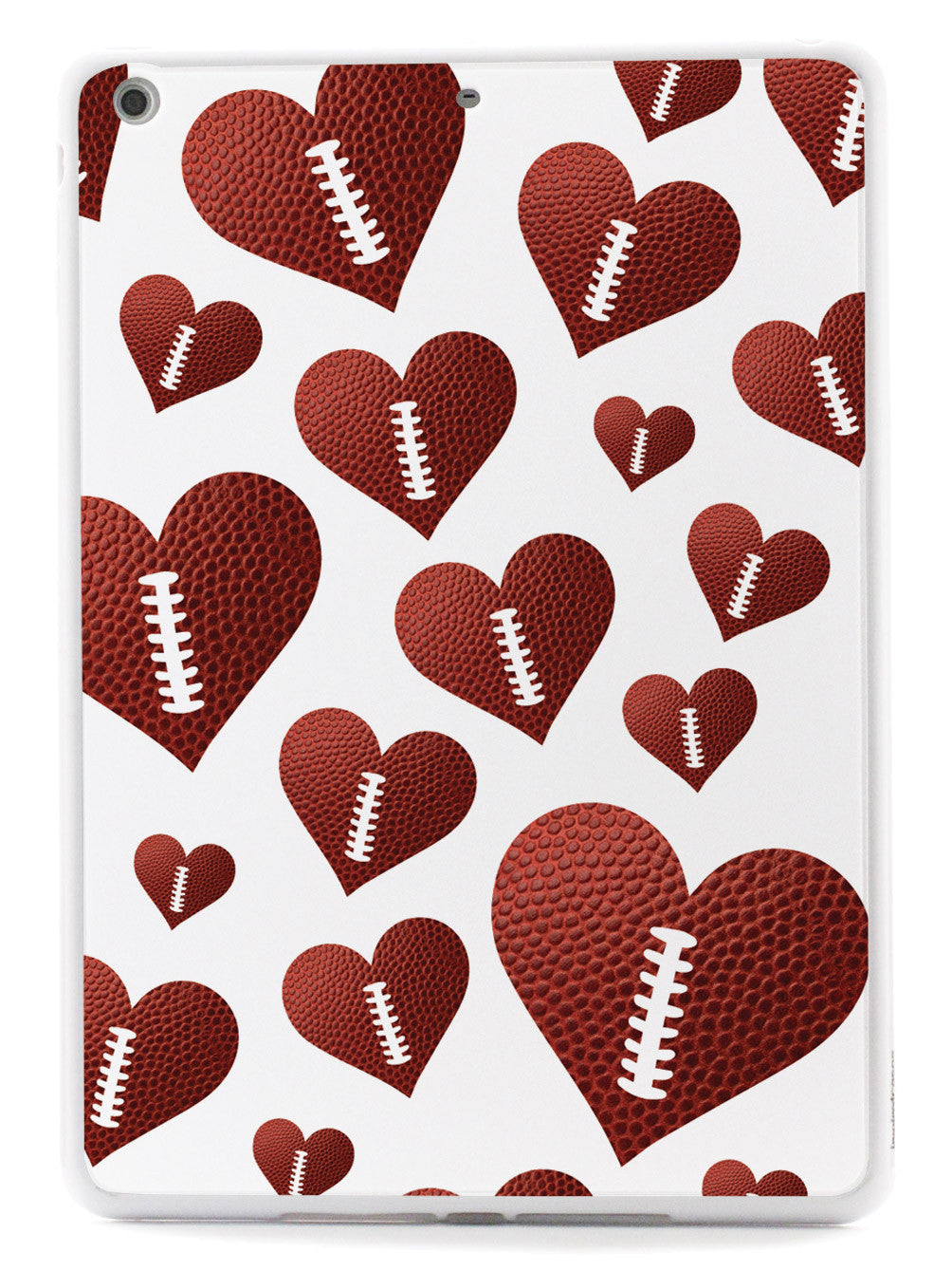 Football Heart Pattern Case