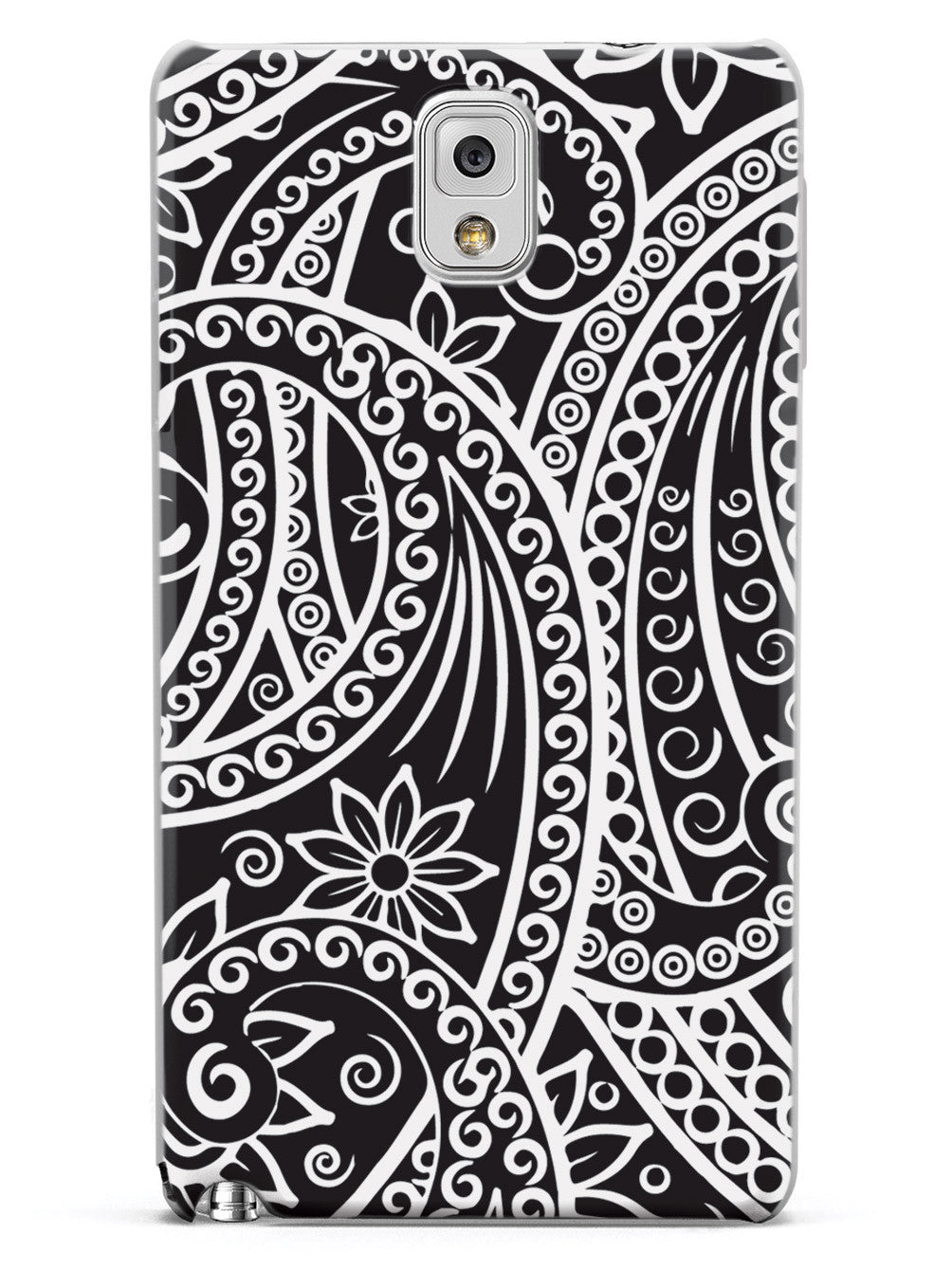Black & White Swirl Pattern Case