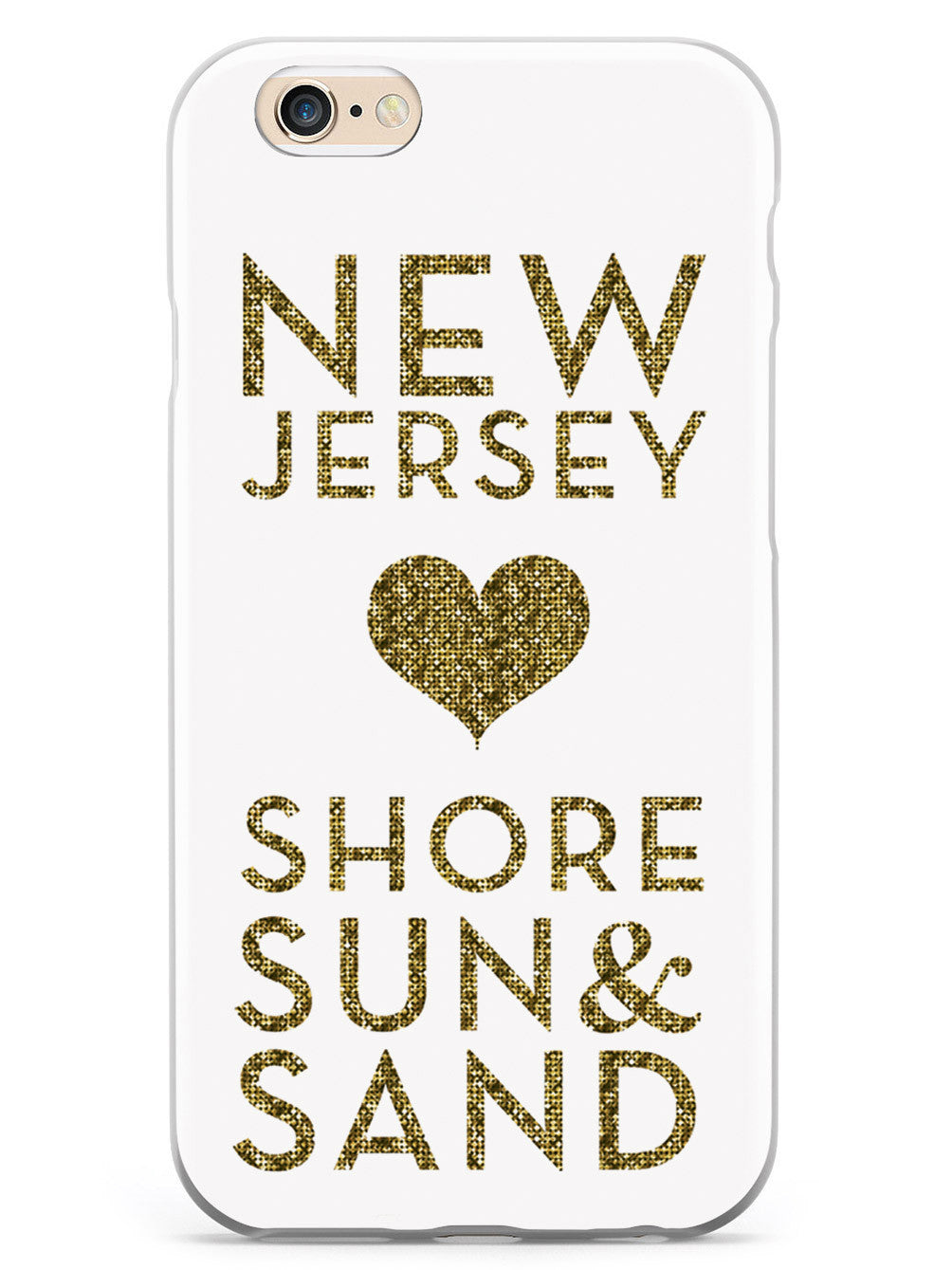 New Jersey Glitter Love Case
