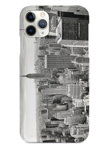 New York Cityscape Skyline Black & White Case