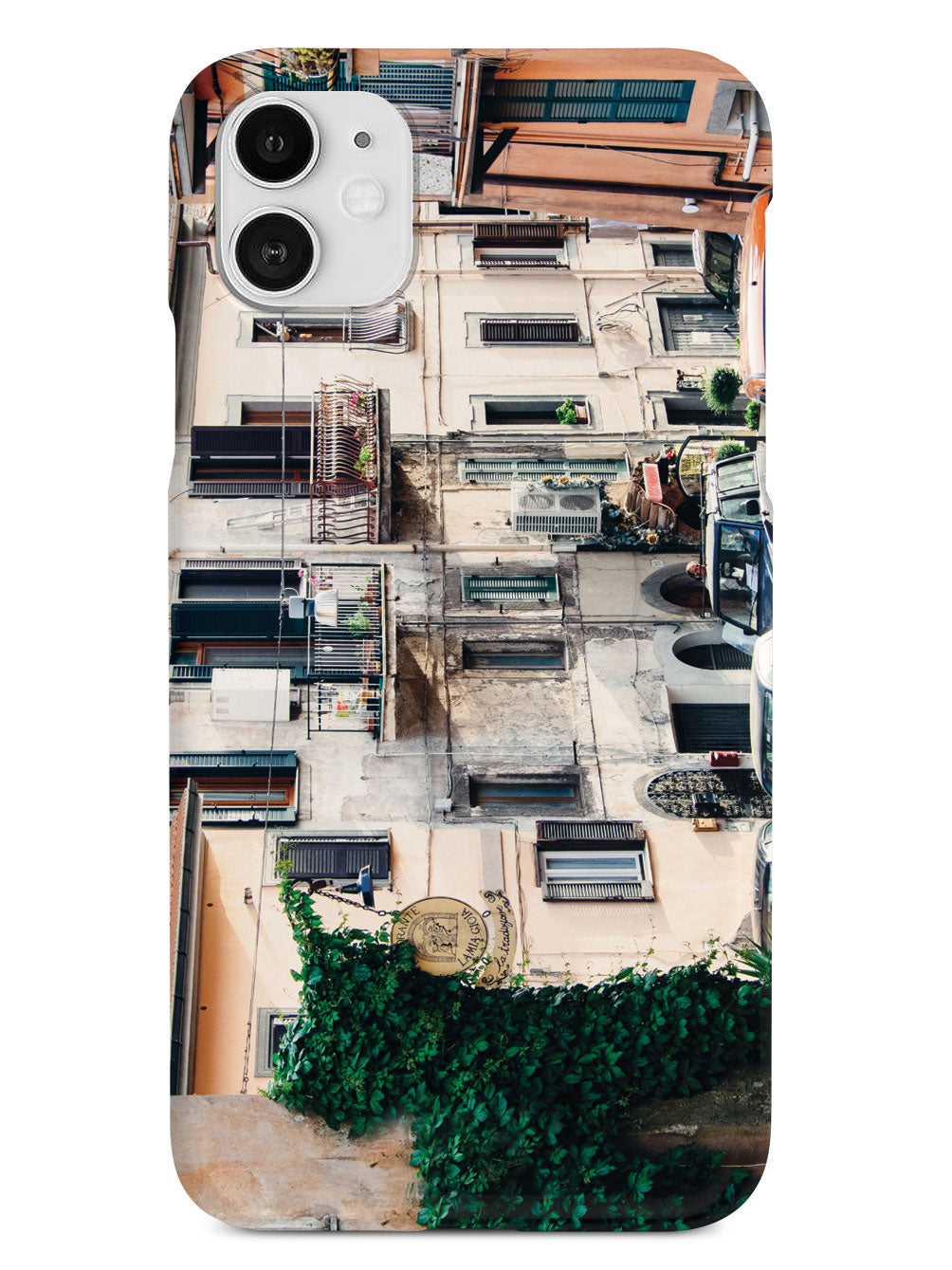 Italy City Street Photo Case