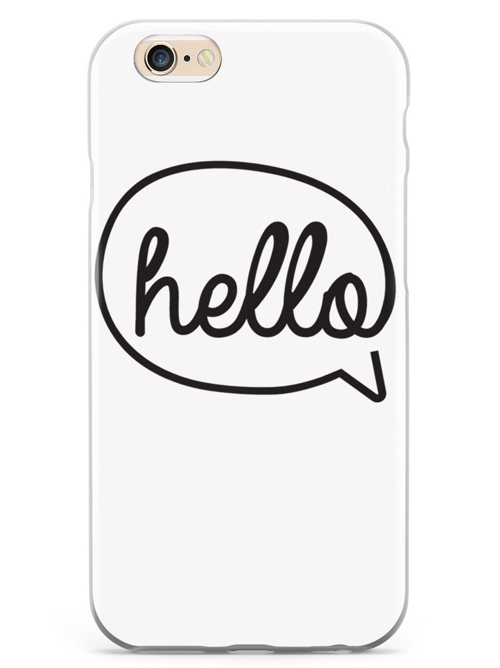Hello Bubble Message Case