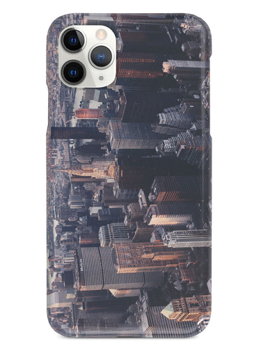 Birdseye New York City Skyline View Case