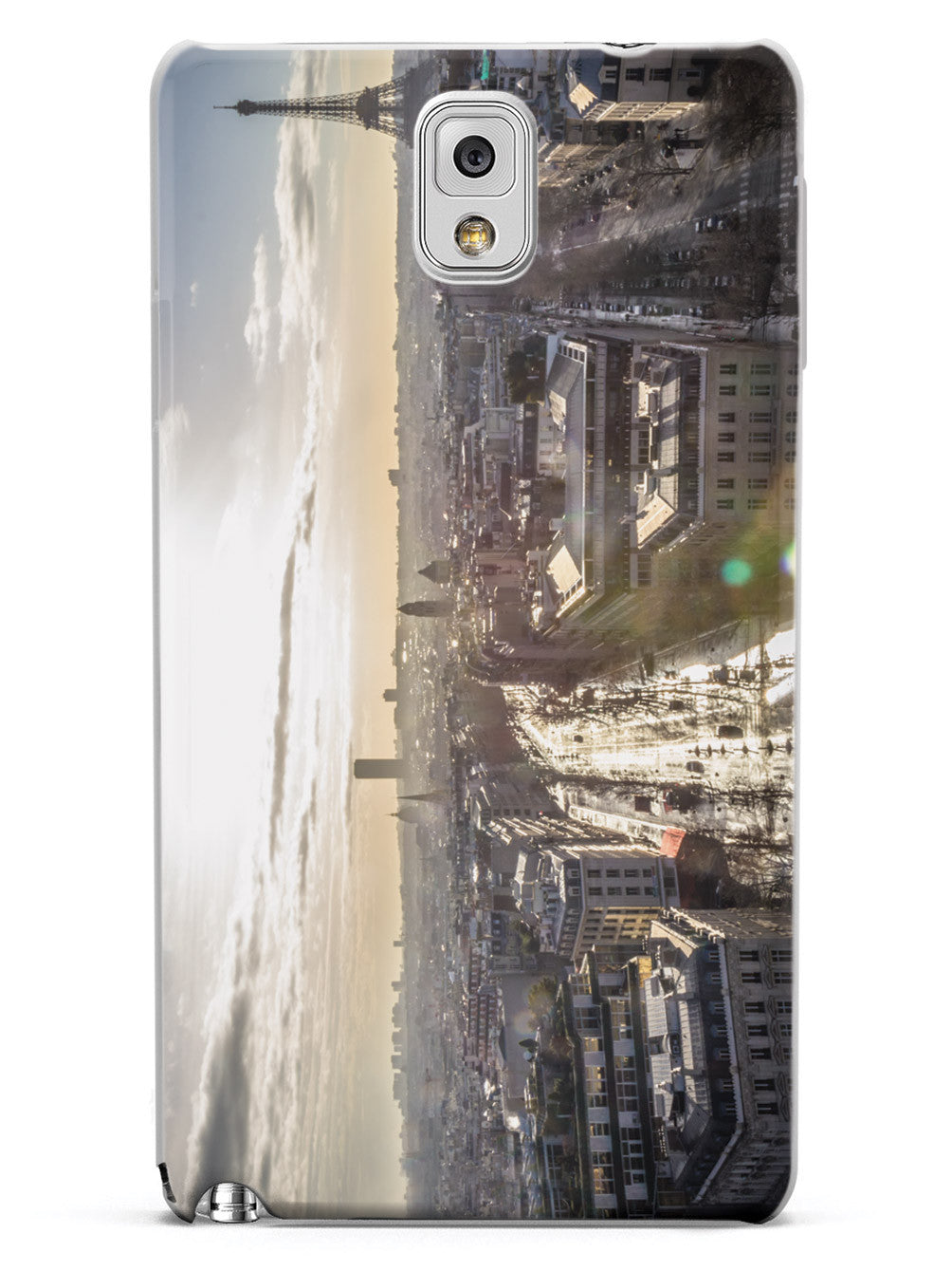 Paris Sunburst Skyline Photo Case