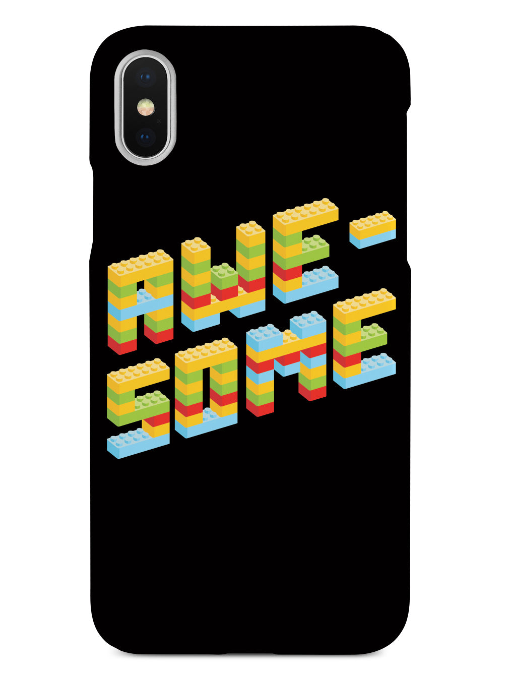 Awesome Blocks Font Case