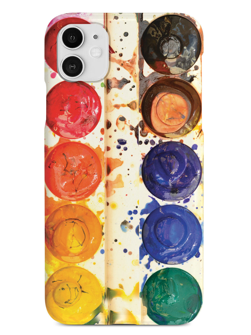 Watercolor Paint Tray Photo Case