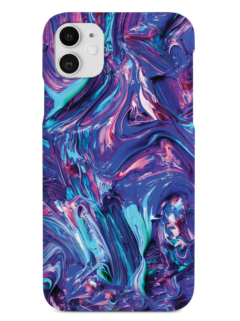 Mixed Swirled Paint Case