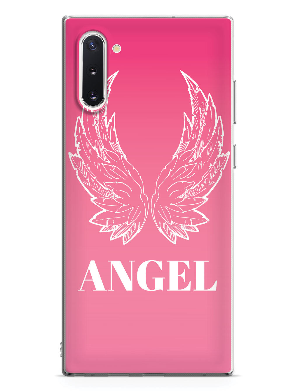 Pink Angel Wings Case