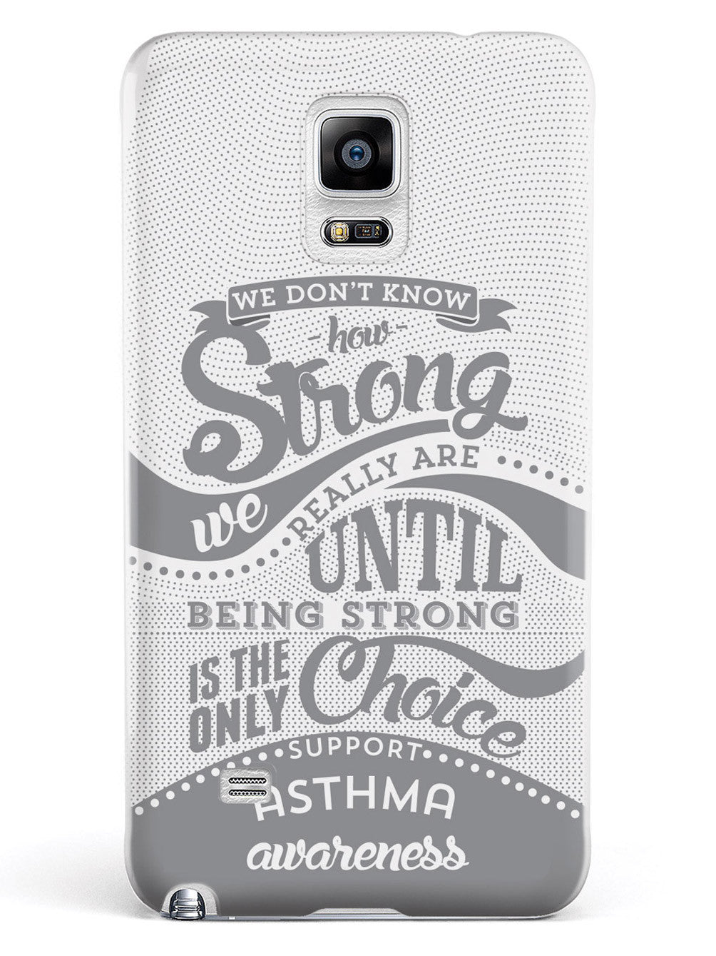 How Strong - Asthma Awareness Case