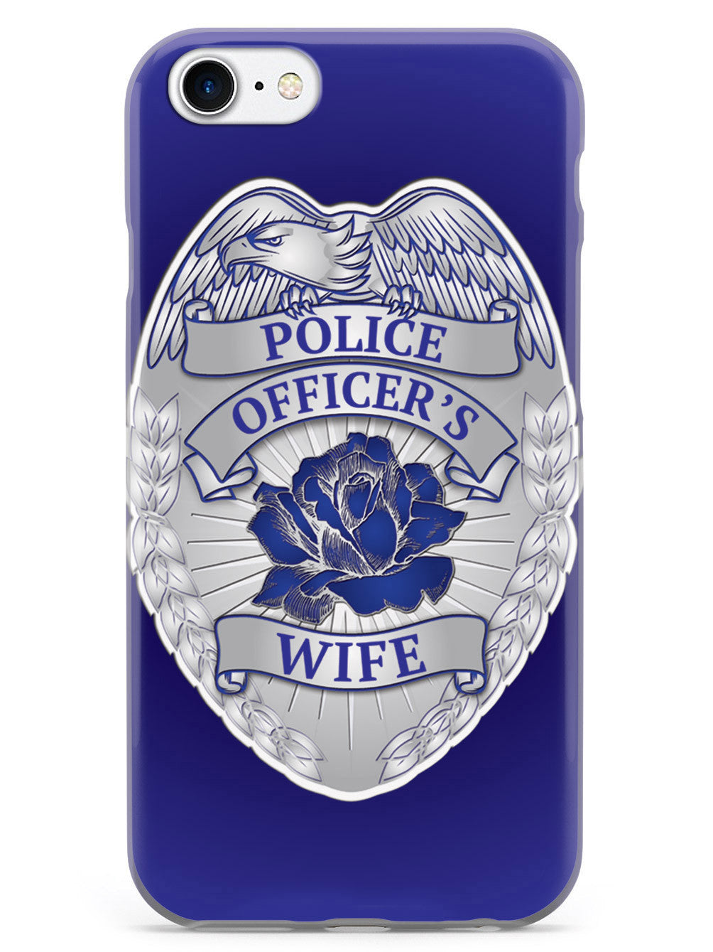Police Officer's Wife Badge Case