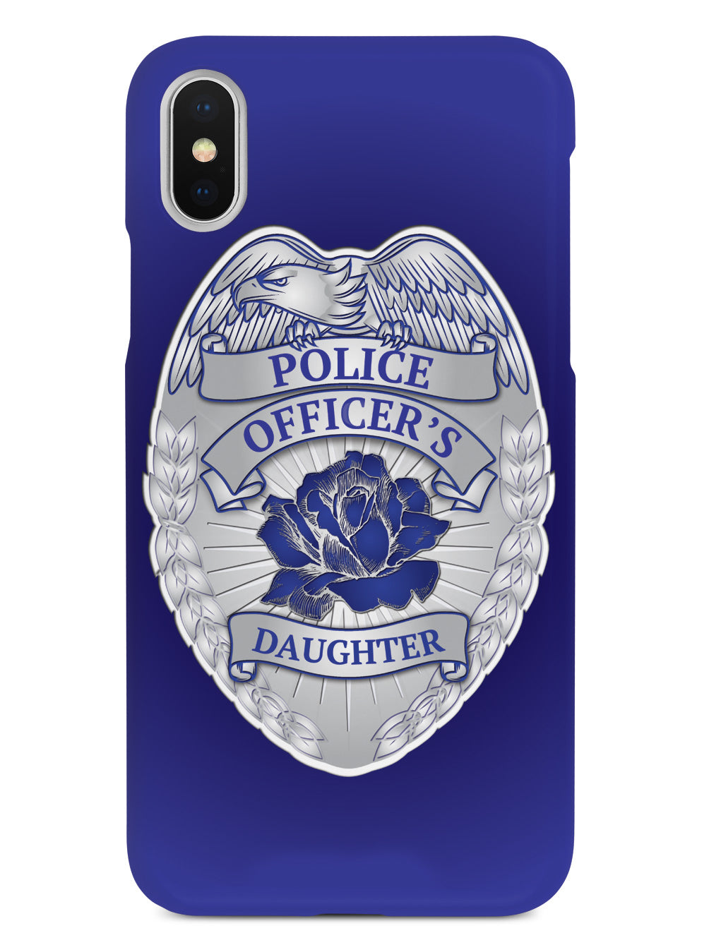 Police Officer's Daughter Badge Case