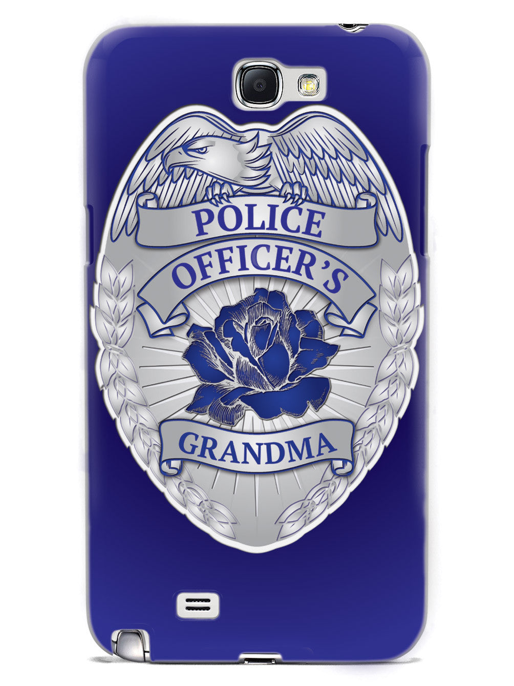 Police Officer's Grandma Badge Case