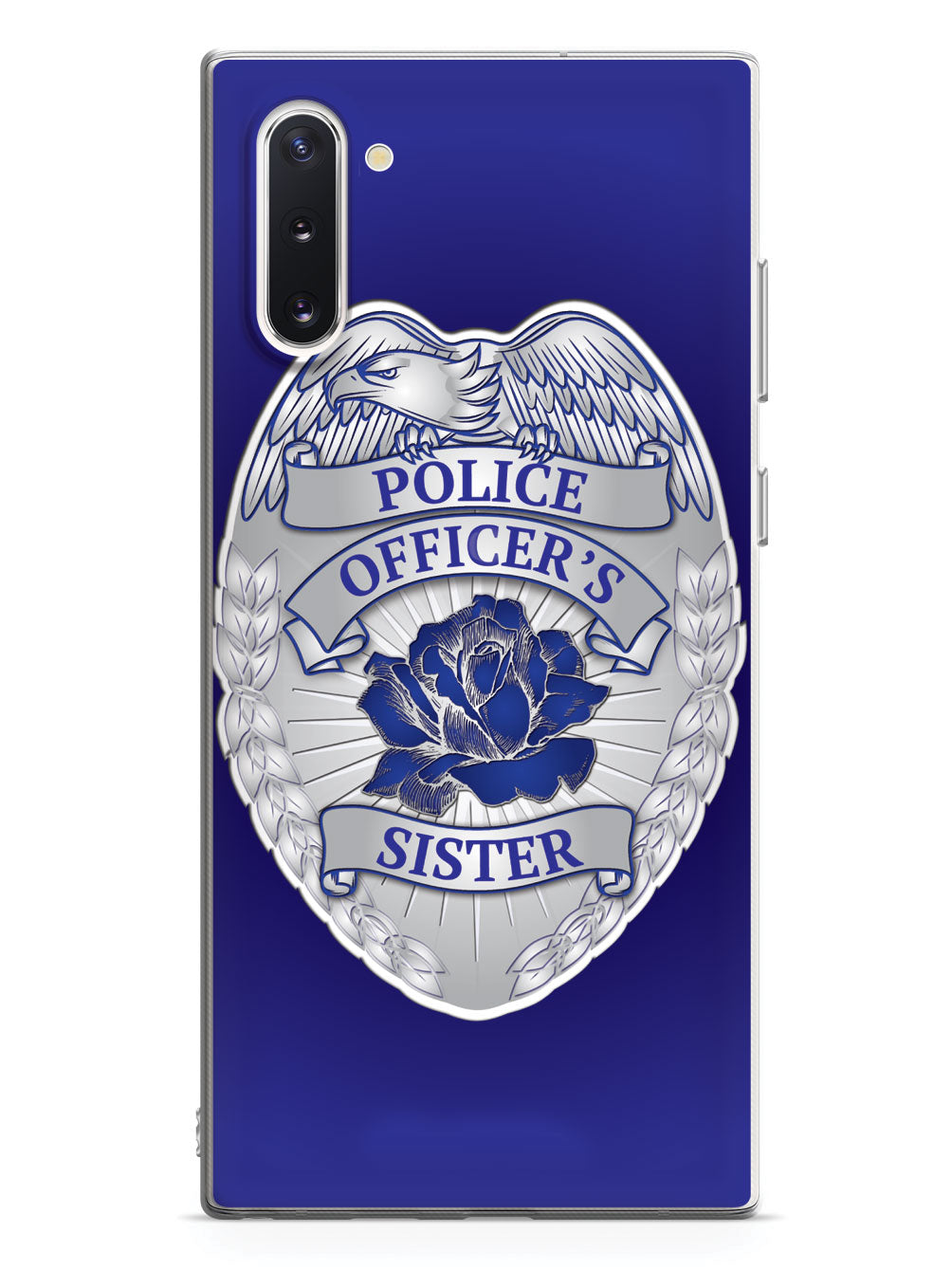 Police Officer's Sister Badge Case