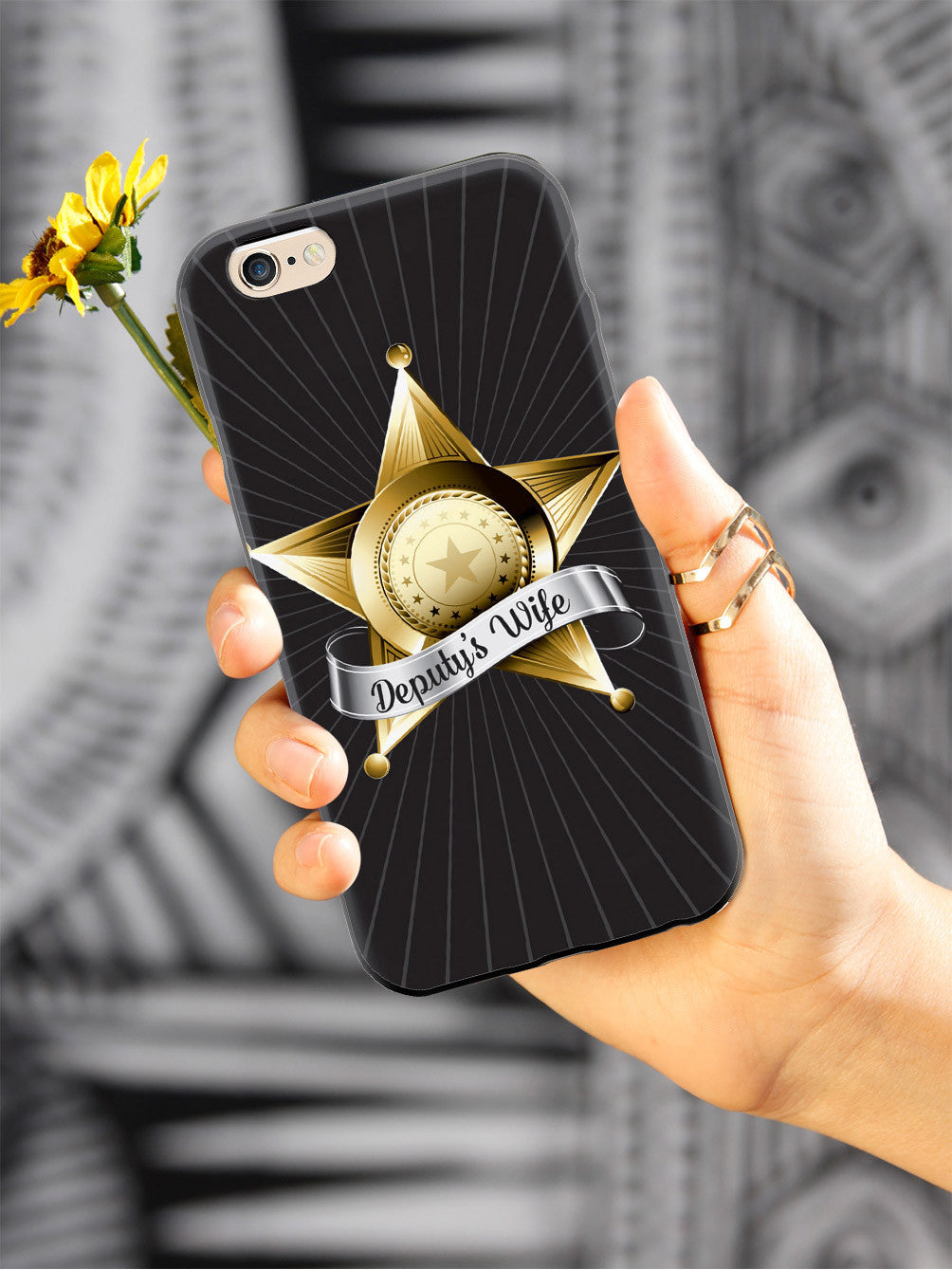 Deputy's Wife Badge  Case