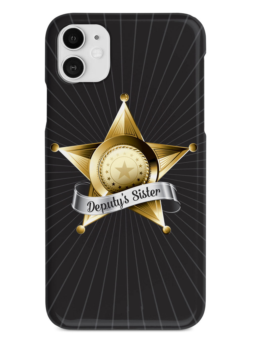 Deputy's Sister Badge  Case