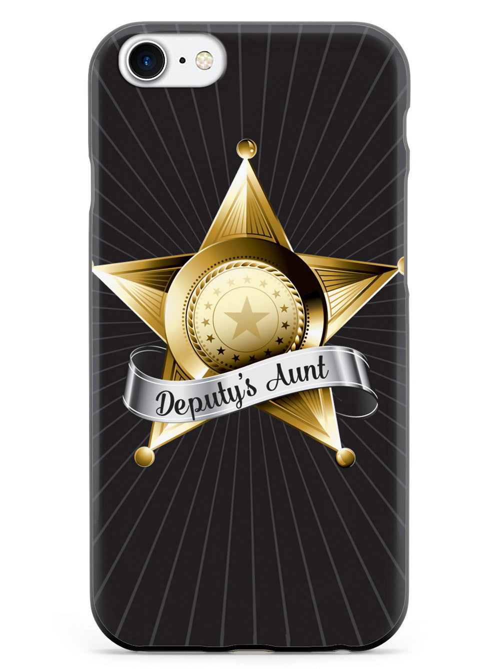Deputy's Aunt Badge  Case