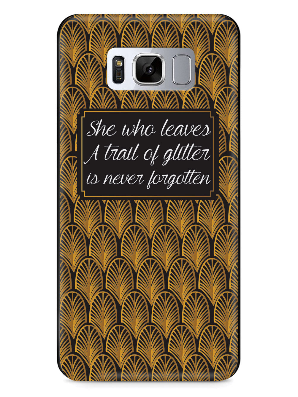 Trail of Glitter Case