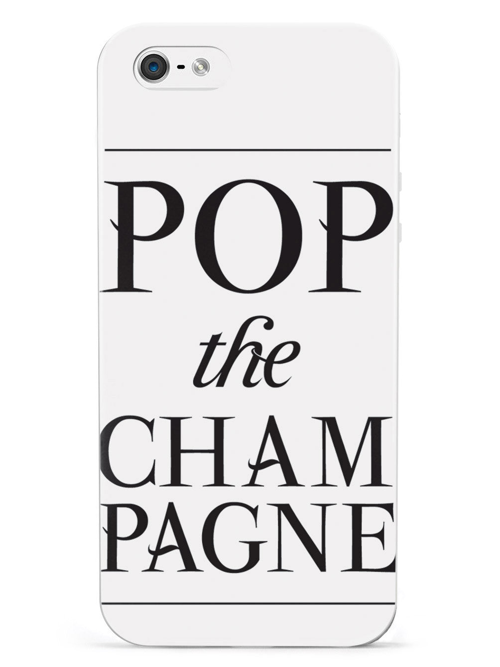 Pop the Champagne Case