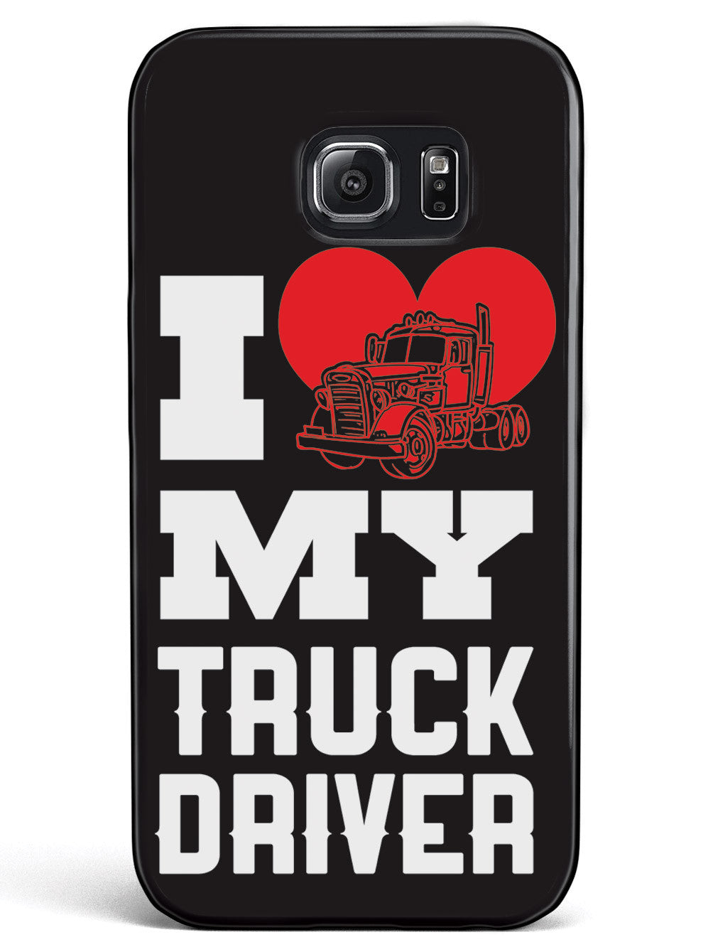 I Heart My Truck Driver Case
