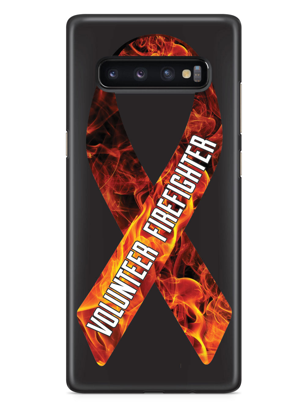 Volunteer Firefighter - Flame Ribbon Case