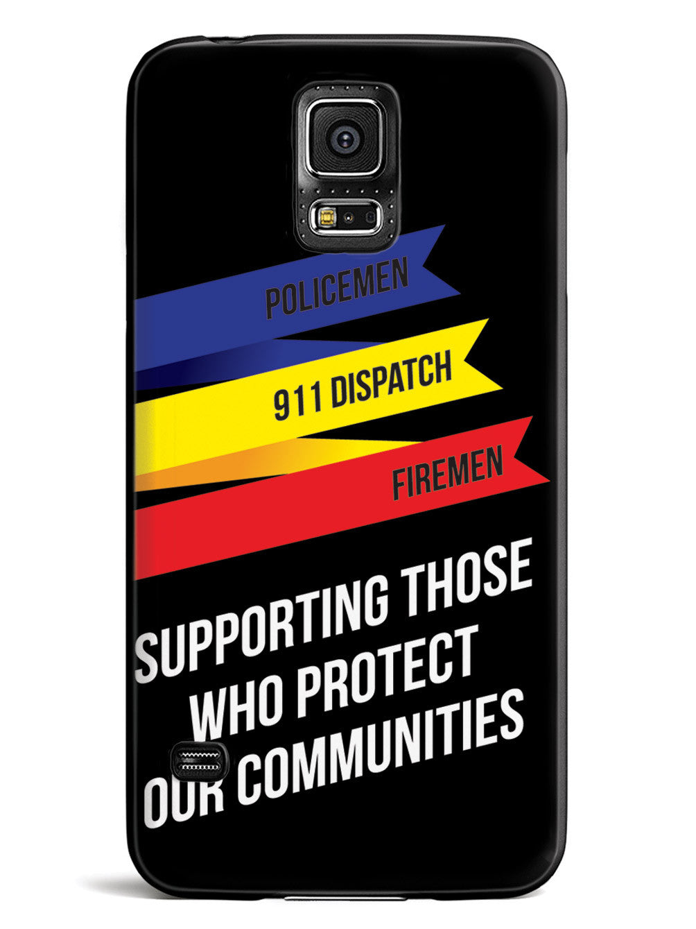 Thin Lines - Support Police, Firefighters, 911 Dispatch  Case