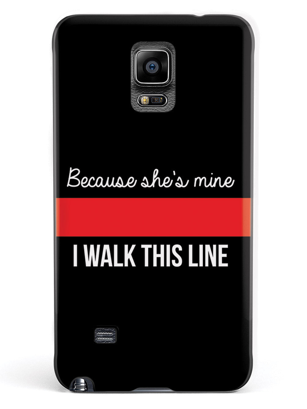 Because She's Mine - Firefighter Thin Red Line Case