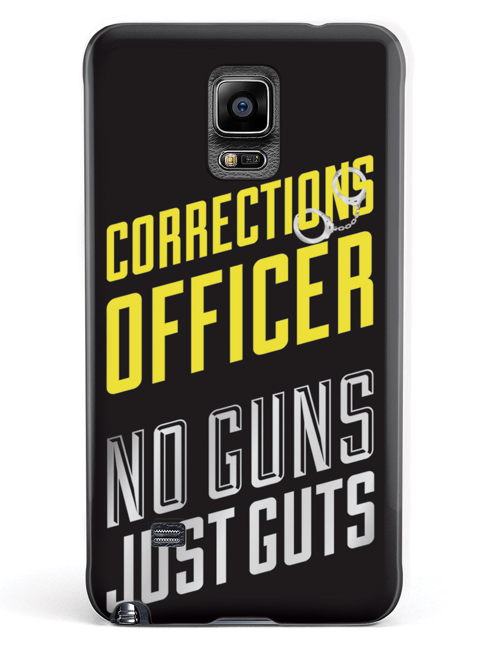 Corrections Officer - No Guns, Just Guts Case