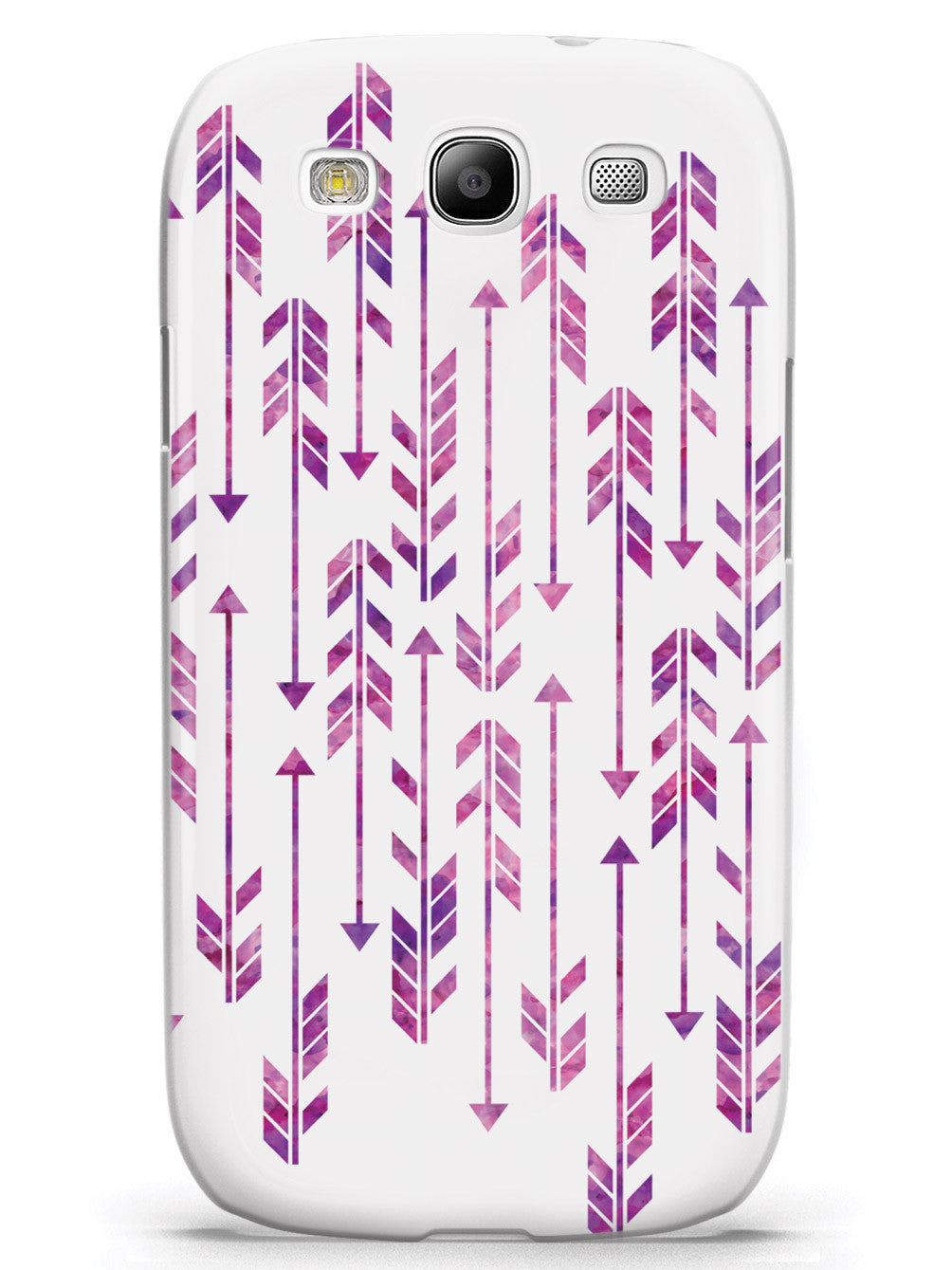 Abstract Purple Arrows Case