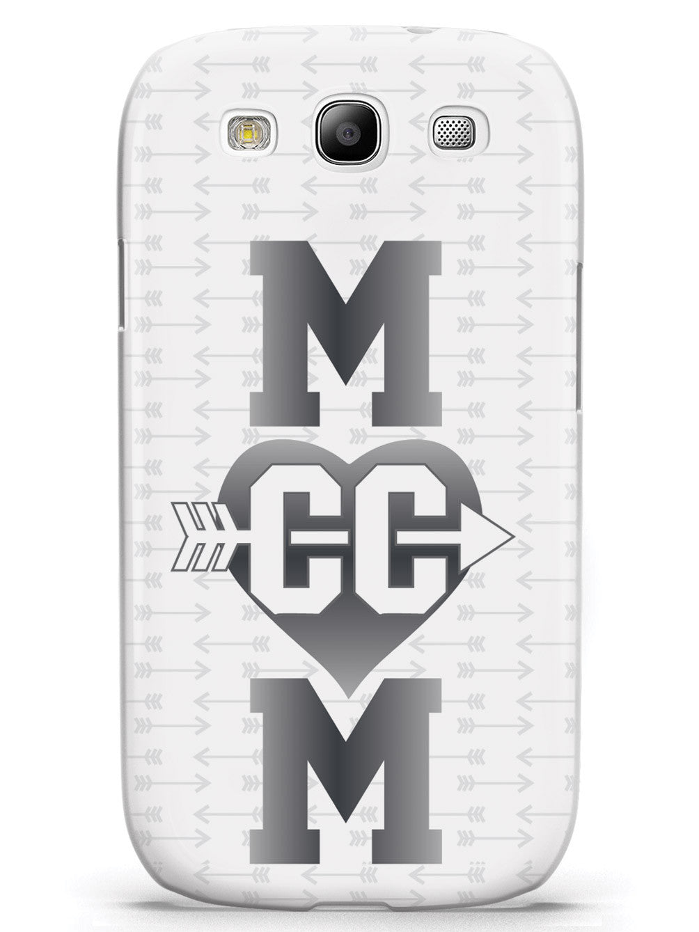 Cross Country Mom Heart Design Case
