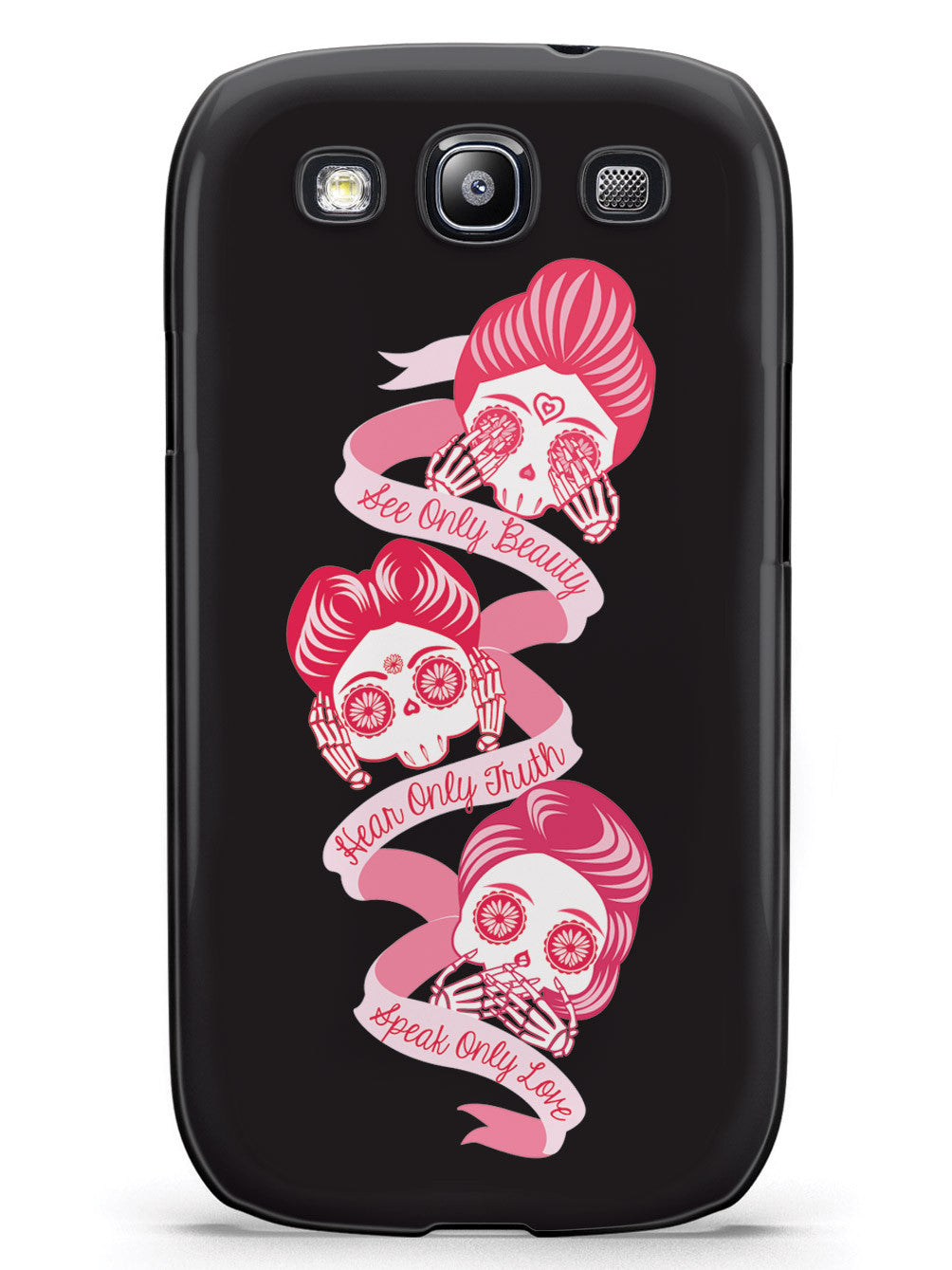 Beauty, Truth, Love - Sugar Skull Case