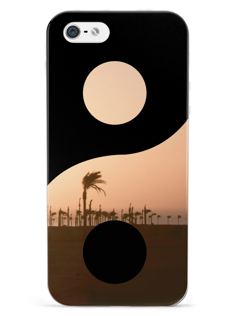 Yin Yang Symbol - Sunset Case