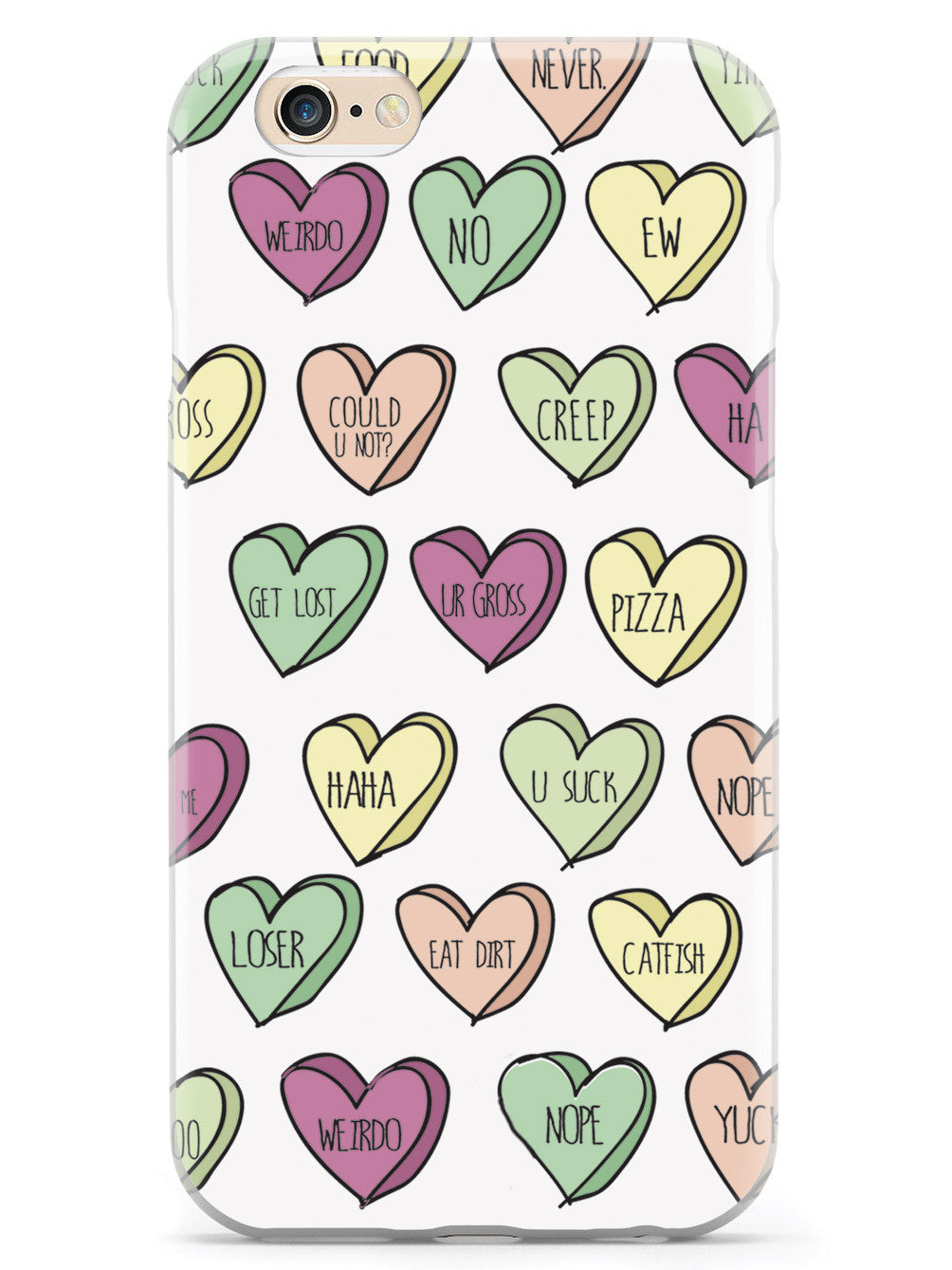 Dysfunctional Candy Hearts Case