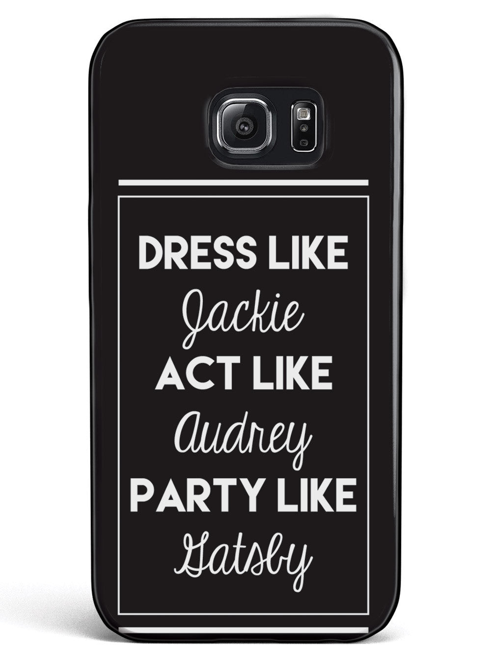 Jackie, Audrey, and Gatsby Case