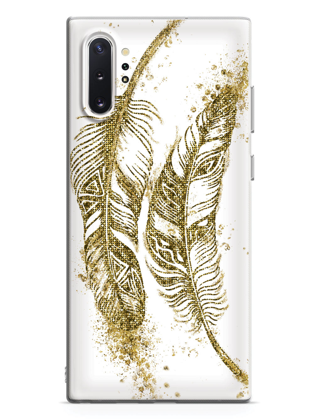 Gold Feathers Case
